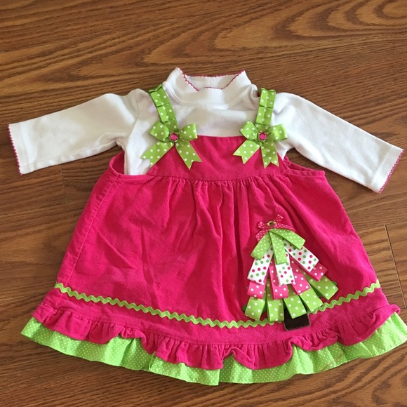 Rare Editions Dresses | 18 Month Girls Christmas Outfit | Poshmark